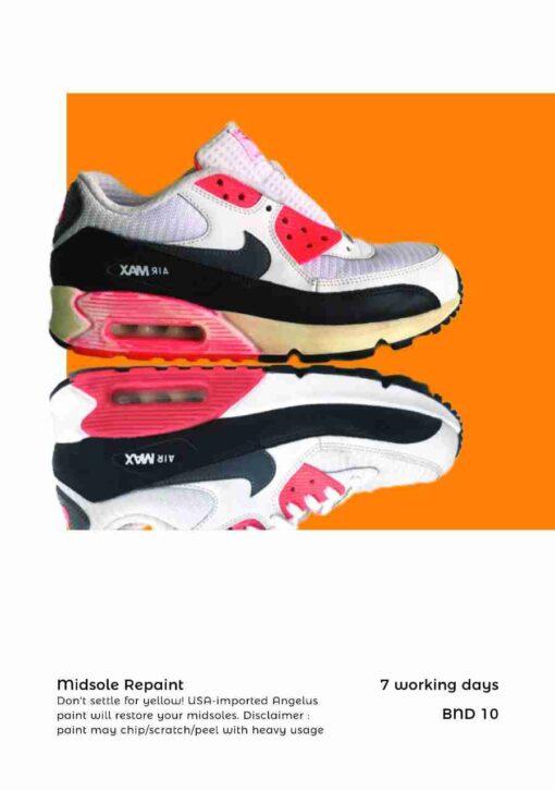 Shoe Midsole Repaint Brunei